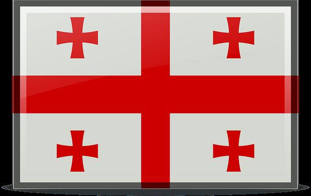 Georgien Reisen - Flagge