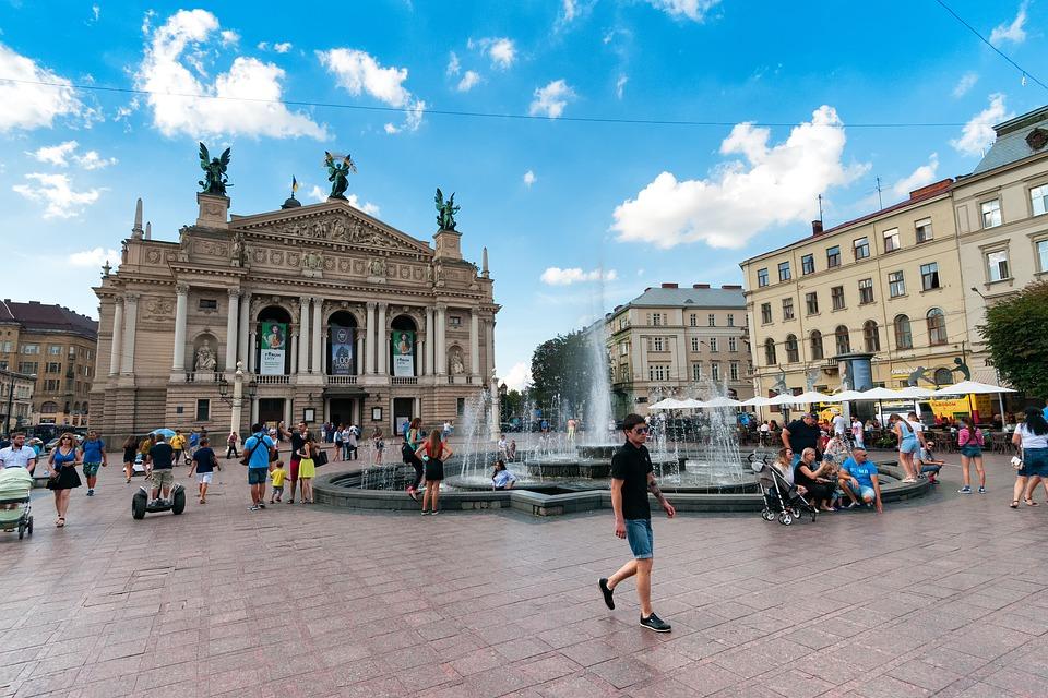 Lwow_Innenstadt Reisen in die Ukraine
