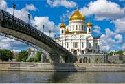Moskau mit Schiff entdecken