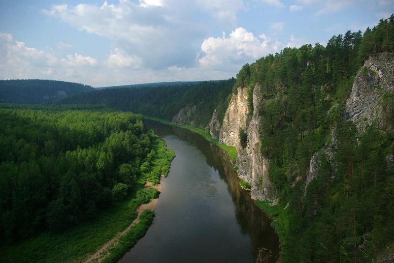 Naturwunder Russlands - Tschusowaja Fluss