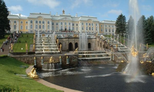St.Petersburg besichtigen - Flusskreuzfahrt