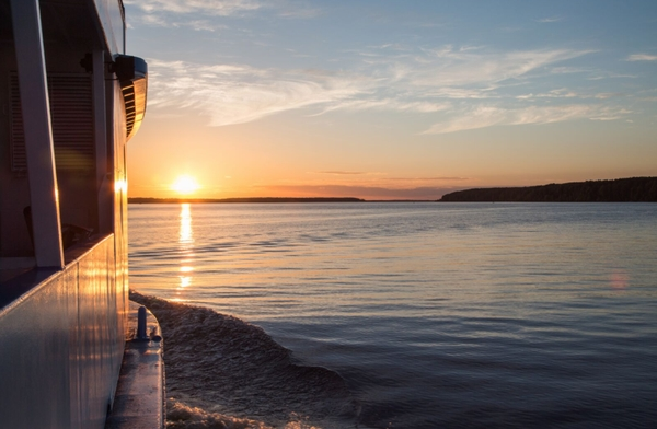 Sonnenuntergang - Russland Kreuzfahrten