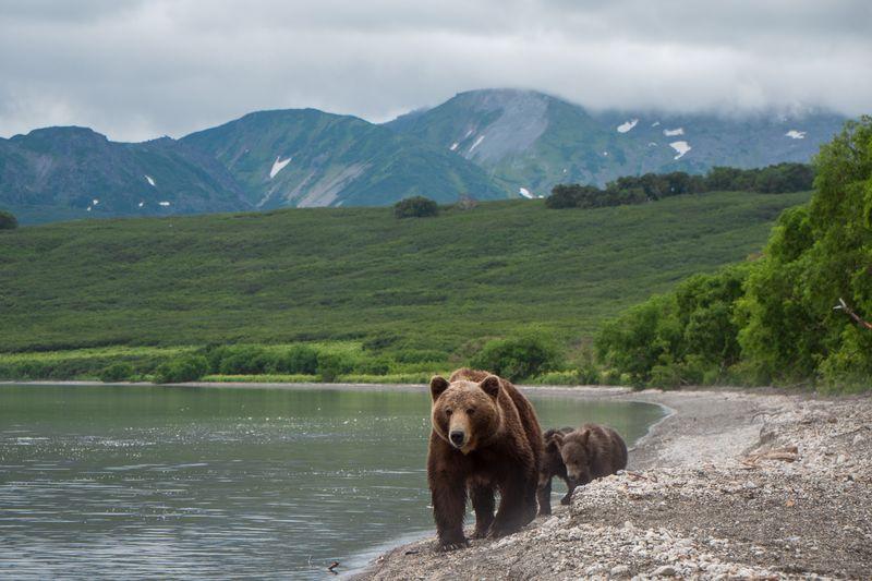 Kamtschatka Reise - Kurilensee Kamtschatka