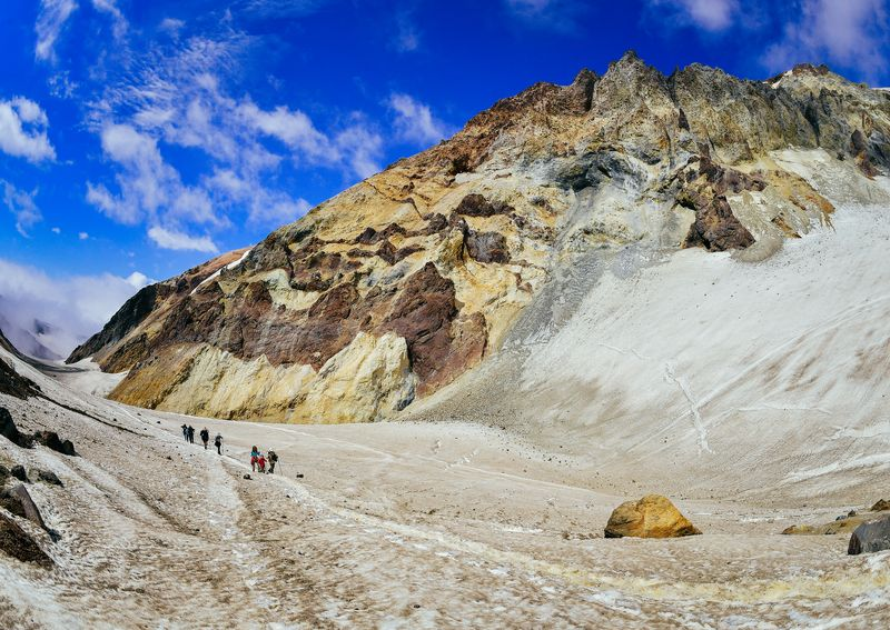 Kamtschatka Reise - Vulkan Mutnovsky Kamtschatka