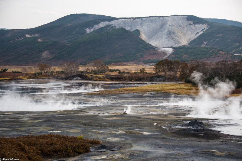 Kamtschatka Reise - Vulkan Uson Kamtschatka