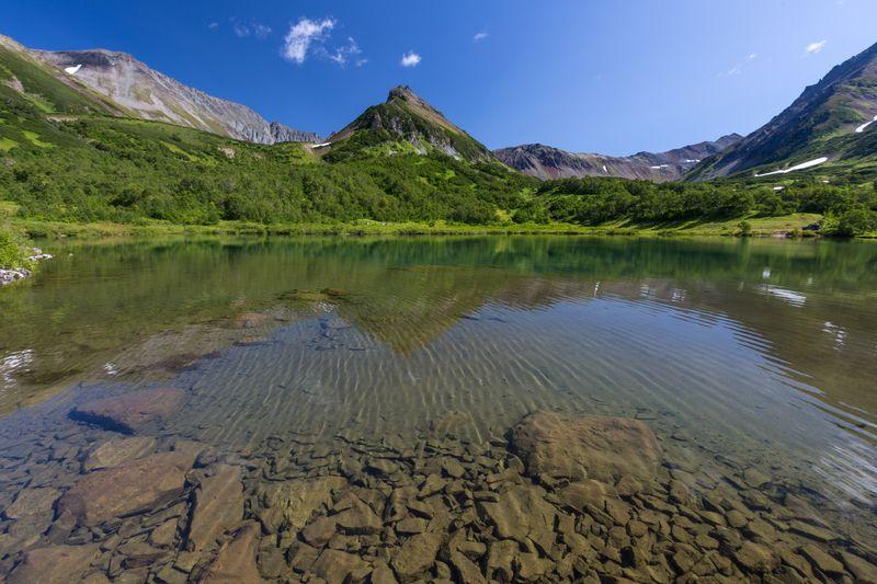 Kamtschatka Reise - Bergmassiv Wwatchkashez Kamtschatka