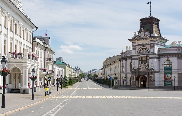 Flusskreuzfahrt Moskau nach Kasan