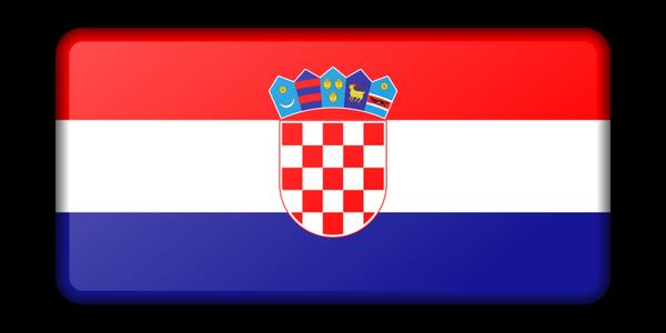 Kroatien Reisen - Flagge