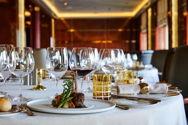 Hervorragende Dinner mit Silversea Cruises