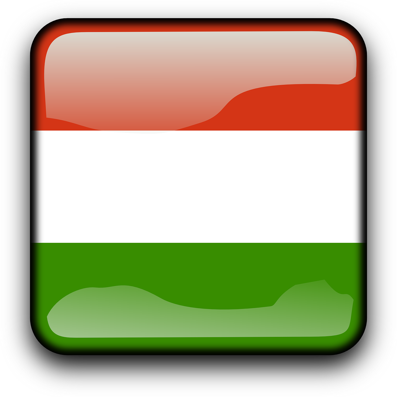 Ungarn Reisen - Flagge